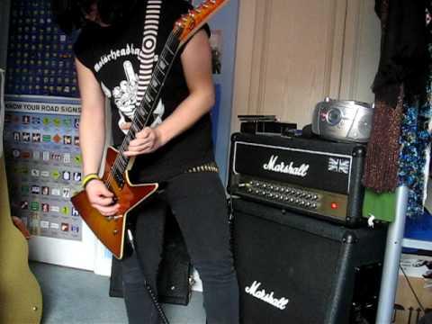 Motorhead - I Got Mine (Live BMTD) cover on LAG Phil Campbell