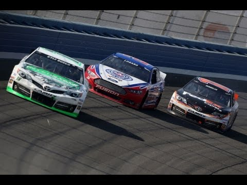 Kyle Busch wins the 2013 Auto Club 400