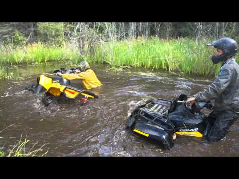 2012 1000XT Outlander Modded Canam DEEP Hole