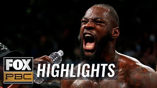 Wilder vs. Ortiz II | HIGHLIGHTS | PBC ON FOX