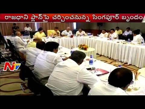 AP Cabinet Meeting | Ministers To Meet Singapore Delegates Over Amaravathi Seed Capital Masterplan