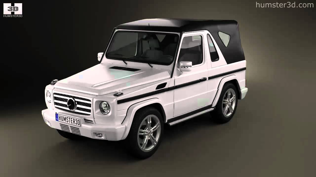 Mercedes benz g class cabriolet 3 door 2011 by 3d model for Mercedes benz g class cabriolet