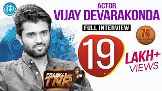 Arjun Reddy Hero Vijay Deverakonda Exclusive Interview    Frankly With TNR #74
