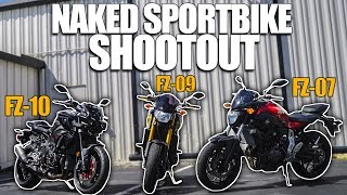 FZ-07 vs. FZ-09 vs. FZ-10 | Which One Should You Buy?