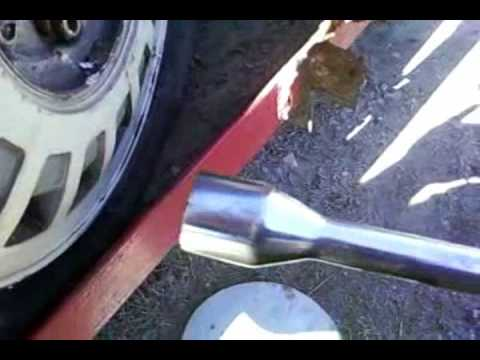 How to remove wheel locks Tire lock lost the key removal in minutes 4 lug 5 lug 6 lug