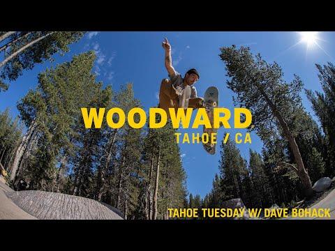 Pro Skater Dave Bohack Skates The Bunker &The Sierra Skatepark - Woodward Tahoe Tuesday
