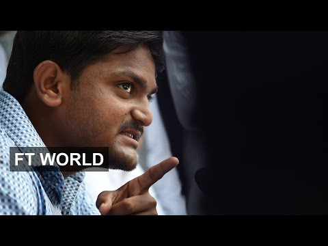 Protest leader on riots in Gujarat | FT World