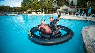 Treasure Hunting Expensive Resorts On LAKE!! (Underwater)