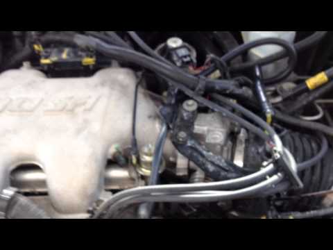 Impala 3400 gm running rich bad fuel pressure regulator