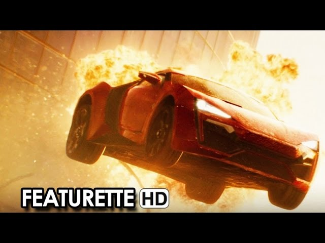 Furious 7 Official Featurette 'The Lykan' (2015) - Vin Diesel, Paul Walker Movie HD