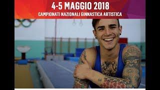 Federazione Ginnastica d'Italia - Campionati Serie A e B Ginnastica Artistica M/F 2018 - teaser