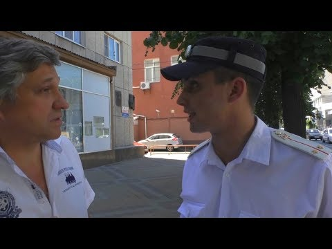 Звезда ютуба ИДПС Мараев издевается над Краснодарским водителем