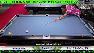 Phan Hoàng - Bình Sữa | Giải Pool 9 Ball Vũng Tàu Open 2019