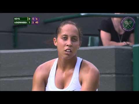 2015 Day 8 Highlights, Madison Keys vs Agnieszka Radwanksa quarter-final