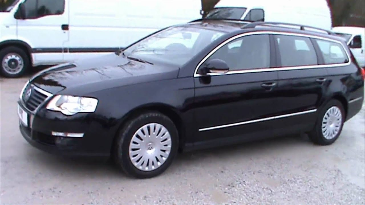 vw passat variant 1 9 tdi comfortline full review start up. Black Bedroom Furniture Sets. Home Design Ideas