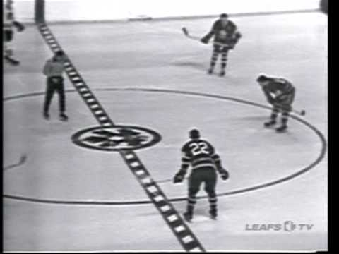 Chicago Blackhawks 4 Toronto Maple Leafs 4 February 11, 1967 Bobby Hull Hattrick Video