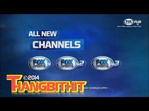 FOX Sports Asia rebranding - FOX Sports, FOX Sports 2 and FOX Sports 3