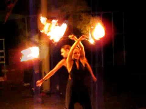Фаер шоу  Fire show - FEP- Sanskrit - Огненное шоу