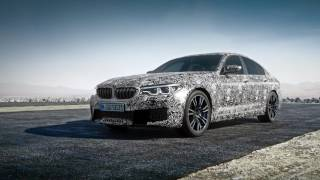 New BMW M5 - Pre-Production Model