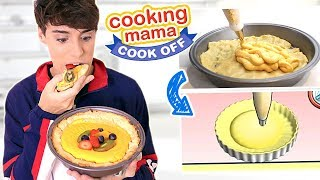 i followed COOKING MAMA recipes in REAL LIFE