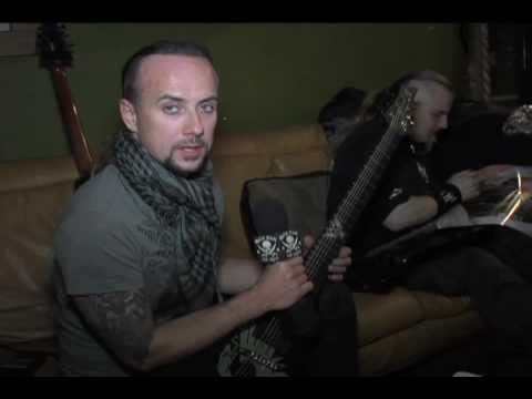 Nergal talks about his ESP HEX-7 signature guitar