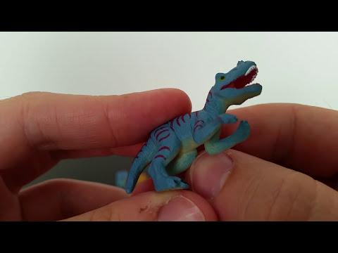Dinosaurio, dinosaurios, huevos de dinosaurios y Juguetes! Parte 1