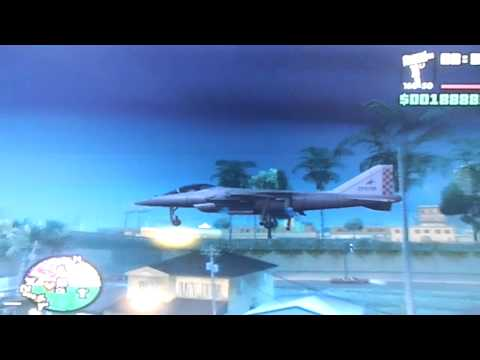 Grand Theft Auto San Andreas - How To Fly A Hydra