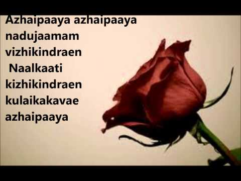 Kadhalil Sodhapuvadu Yeppadi- Azhaipaya Azhaipaya with lyrics...