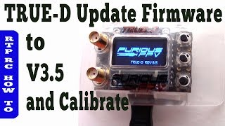 How To Update Furious True-D V3 to v3.5 Firmware & How to Calibrate the furious true-d v3.5