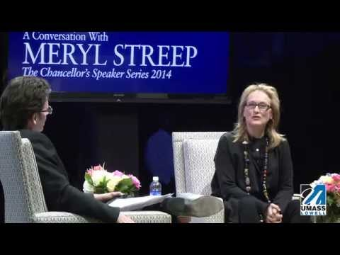 UMass Lowell: A Conversation with Meryl Streep (4:20)