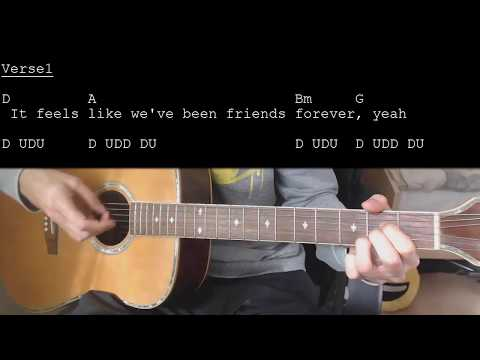 Download Lagu  Jason Mraz - More Than Friends feat. Meghan Trainor EASY Guitar Tutorial With Chords/s Mp3 Free