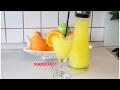 En doğal Portakal suyu tarifi - Doğal katkısız meyve suyu -limonata nasıl yapılır tarifi Nurmutfağı