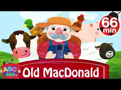 Old MacDonald Had a Farm   + More Nursery Rhymes & Kids Songs - ABCkidTV