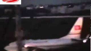 لحظات هروب زين العابدين بن علي الرئيس التونسي المخلوع بالطائرة للسعودية