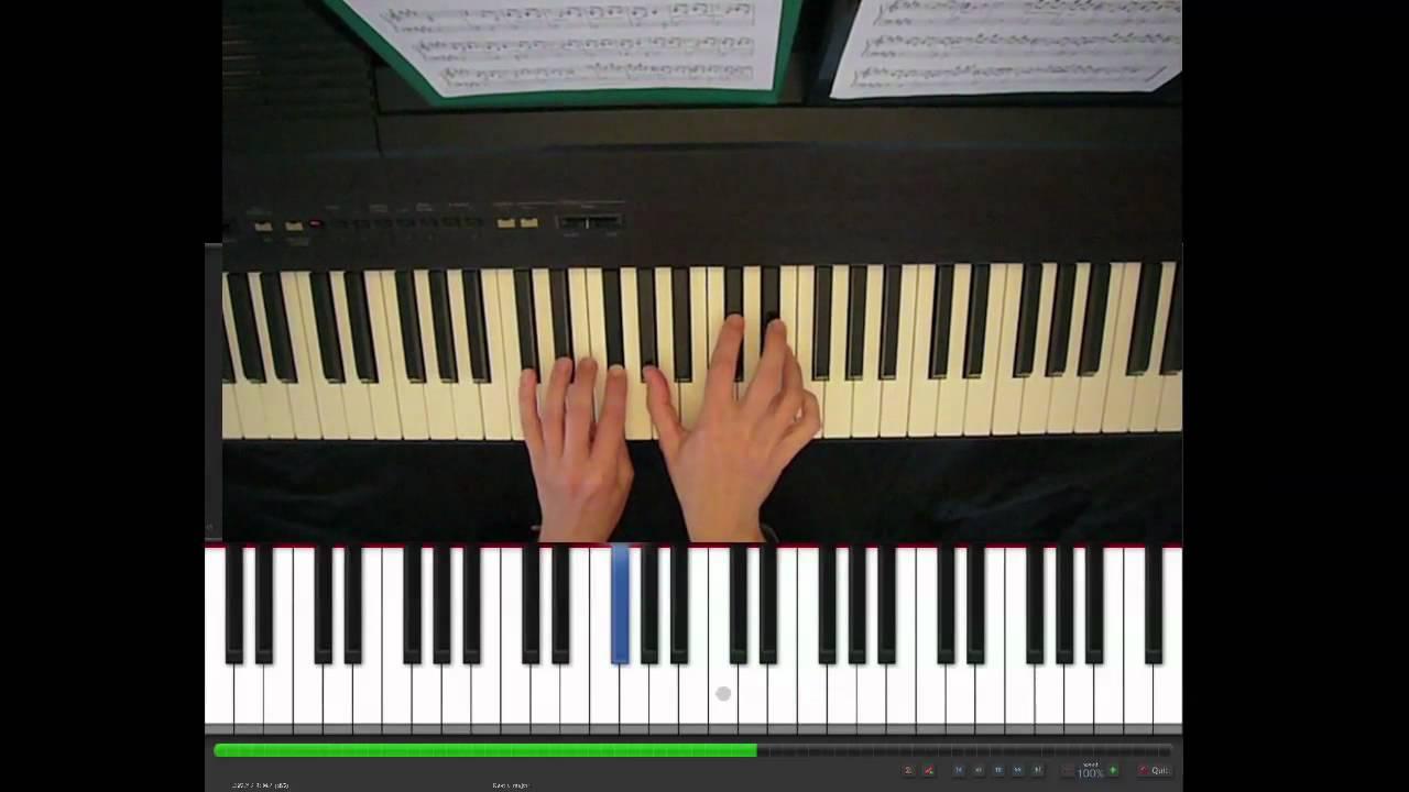 Skinny love birdy piano part tutorial youtube