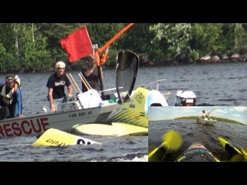 Blowover at Crane Lake, MN August 17th 2013 - The Banana Flip