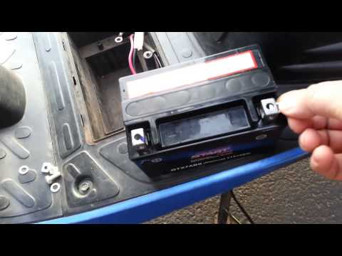 How to Fill and install a new battery
