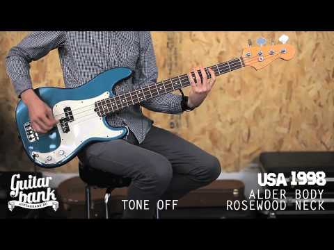 Fender Precision Bass comparison USA vs MIM vs JAPAN