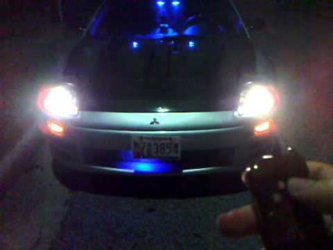 Mitsubishi eclipse 3g gt interior at night how to save money and do it yourself for 2003 mitsubishi eclipse interior lights