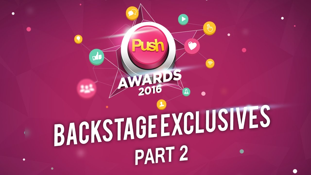 PUSH Awards 2016 | Mobile Live Stream Part 2