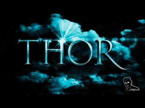 Photoshop: Wallpaper Thor