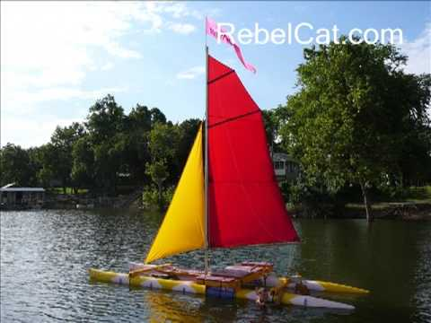 How to Make a Catamaran Sailboat from PVC Pipe - YouTube