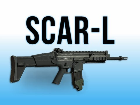 MW3 In Depth - Scar-L Assault Rifle & IIWR Juggernaut Live Action Preview