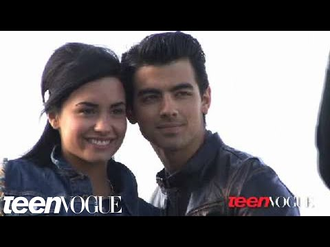 Demi Lovato and Joe Jonas Photoshoot for Teen Vogue