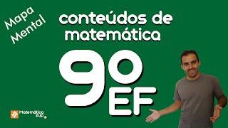 Conteúdos Matemática 9º ano Ensino Fundamental