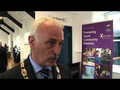 Video report of the launch of Community Relations Week 2011 at The Playhouse Theatre, Londonderry. In attendance were CRC Chief Executive Duncan Morrow and c...