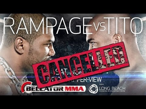 Bellator Conference Call Discussing Cancelation of Rampage vs Tito Ortiz PPV Image 1