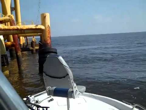 SABINE PASS Short Rig Fishing with KRS  04/11/2012