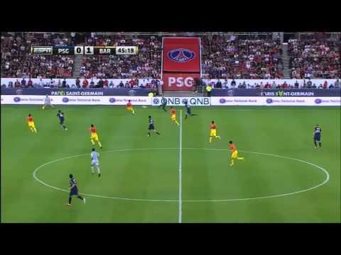 Javier Pastore VS FC Barcelona