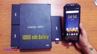 Oukitel WP2 Unboxing, Review, Hands On, Freeze, Boil, Sand, Pepsi Cola, Throw and Car Tests 🔥🔥🔥